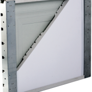 Our garage doors are hurricane rated and made in the u s a for Garage door wind code ratings